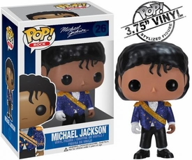 Funko POP! Rocks Vinyl Figure Michael Jackson Military [Purple Jacket]