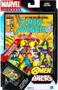Marvel Universe Greatest Battles Exclusive Action Figure 2-Pack Wolverine & She-Hulk