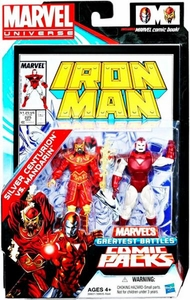 Marvel Universe Greatest Battles Action Figure 2-Pack Silver Centurion Vs. Mandarin