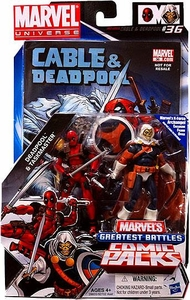 Marvel Universe Greatest Battles Action Figure 2-Pack Deadpool & Taskmaster