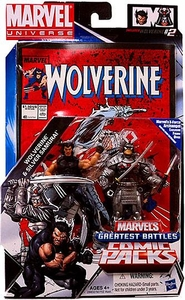 Marvel Universe Greatest Battles Action Figure 2-Pack Wolverine & Silver Samurai