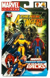 Marvel Universe Greatest Battles Action Figure 2-Pack Sentry & Spider-Man