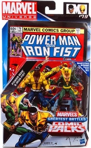 Marvel Universe Greatest Battles Action Figure 2-Pack Power Man & Iron Fist