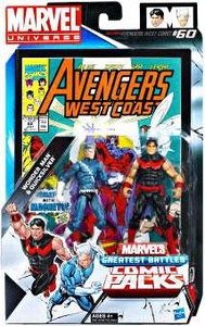 Marvel Universe Greatest Battles Action Figure 2-Pack Wonder Man & Quicksilver