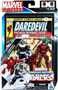 Marvel Universe Greatest Battles Action Figure 2-Pack Bullseye & Daredevil