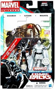 Marvel Universe Greatest Battles Exclusive Action Figure 2-Pack Black Costume Spider-Man & Dr. Doom