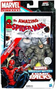 Marvel Universe Greatest Battles Exclusive Action Figure 2-Pack Spider-Man & Rhino