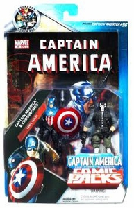 Marvel Universe Greatest Battles Exclusive Action Figure 2-Pack Captain America & Crossbones