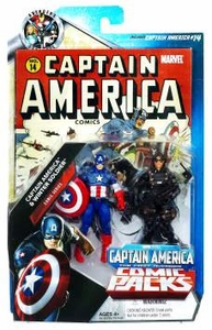 Marvel Universe Greatest Battles Exclusive Action Figure 2-Pack Captain America & Winter Soldier