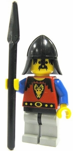 LEGO Dragon Knights LOOSE Complete Mini-Figure Dragon Knight with Spear