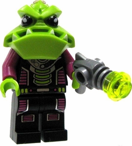 LEGO Alien Conquest LOOSE Alien Trooper with Big Teeth