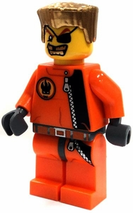 LEGO AGENTS LOOSE Figure Agent Gold Tooth
