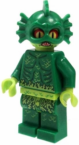 LEGOMonster Fighters LOOSE Complete Mini Figure Swamp Creature / Gill-Man