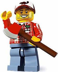 LEGO Minifigure Collection Series 5 LOOSE Mini Figure Lumberjack