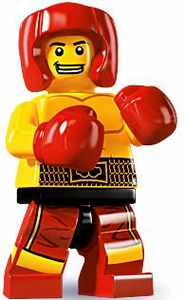 LEGO Minifigure Collection Series 5 LOOSE Mini Figure Boxer