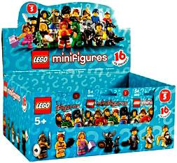 LEGO Minifigure Series 5 Mystery Box [60 Packs]
