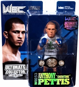 Round 5 UFC Ultimate Collector Series 10 LIMITED EDITION Action Figure Anthony Pettis [Includes WEC Championship Belt!] Only 750 Made!