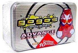 Crazy Bones Gogo's Advance Special Edition Silver Tin Set