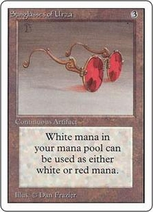Magic the Gathering Unlimited Edition Single Card Rare Sunglasses of Urza