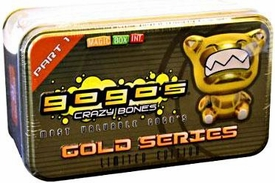 Crazy Bones Gogo's Gold Series 1 Limited Edition Tin Set