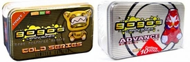 Crazy Bones Gogo's Set of Both Limited Edition Tins [Gold 1 & Advanced Silver]