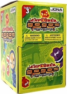 Crazy Bones Gogo's Series 3 Explorer 35 Count Booster Box [35 Packs]