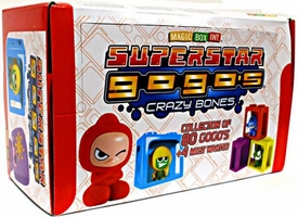 Crazy Bones Gogo's Series 6 Superstar Booster Box [24 Packs]