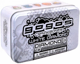Crazy Bones Gogo's White Diamond Tin Set [10 Exclusive Gogo's]