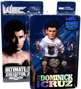 Round 5 UFC Ultimate Collector Series 10 LIMITED EDITION Action Figure Dominick Cruz [Includes WEC Championship Belt!] Only 750 Made!