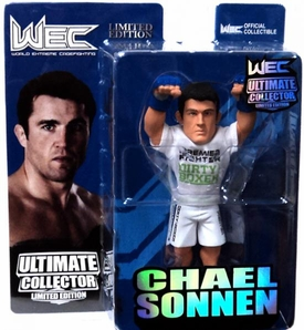 Round 5 UFC Ultimate Collector Series 10 LIMITED EDITION Action Figure Chael Sonnen [WEC Gloves] Only 750 Made!
