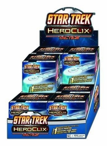 Star Trek HeroClix Game Display Box [12 Random Miniatures]