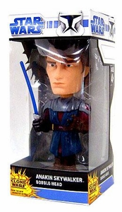 Funko Star Wars Saga 2008 Clone Wars Wacky Wobbler Bobble Head Anakin Skywalker