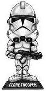 Funko Star Wars Wacky Wobbler Bobble Head Clone Trooper