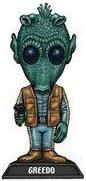 Funko Star Wars Wacky Wobbler Bobble Head Greedo
