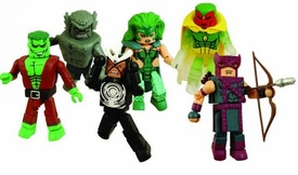 Marvel MiniMates Series 20 Set of 3 Mini Figure 2-Packs