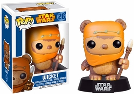 Funko POP! Star Wars Bobble Head Wicket New!