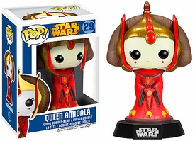 Funko POP! Star Wars Bobble Head Queen Amidala New!