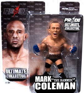 Round 5 UFC Ultimate Collector Series 10 Action Figure Mark Coleman [PRIDE Gloves]