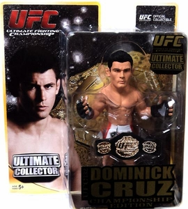 Round 5 UFC Ultimate Collector Series 10 CHAMPIONSHIP EDITION Action Figure Dominick Cruz [Includes Belt!]