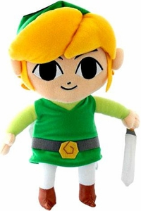 Legend of Zelda Phantom Hourglass 12 Inch Deluxe Plush  Link