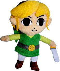 Legend of Zelda Phantom Hourglass 6 Inch Plush Link