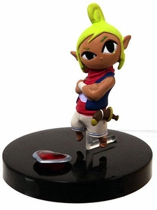 Tomy Gacha Legend of Zelda Phantom Hourglass 2 Inch PVC Figure Tetra & Heartpiece