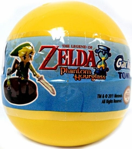 Tomy Gacha Legend of Zelda Phantom Hourglass Mini PVC Figure Blind Pack