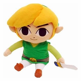 Legend of Zelda Exclusive 6 Inch Plush Wind Waker Link