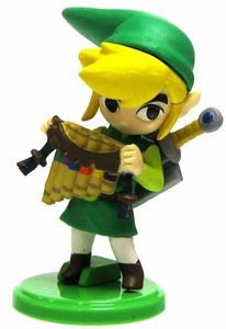 Legend of Zelda Spirit Tracks 2 Furuta Choco Egg 1.5 inch Mini PVC Figure Link [Pipes]