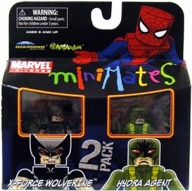 Marvel Minimates Series 29 Mini Figure 2-Pack Hydra Agent & X-Force Wolverine