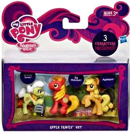 My Little Pony Friendship is Magic Apple Family 3-Pack Granny Smith, Big Macintosh & Applejack