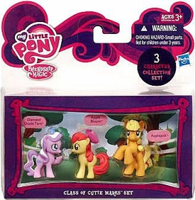 My Little Pony Friendship is Magic Class of Cutie Marks 3-Pack Apple Bloom, Diamond Dazzle Tiara & Applejack