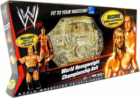 Mattel WWE Wrestling World Heavyweight Championship Belt [Triple H & Randy Orton Action Figures]