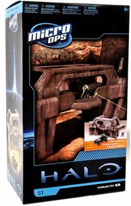 Halo McFarlane Micro Ops Series 1 Box Set High Ground Gate [Includes Warthog, Spartan CQC & Spartan Pilot]
